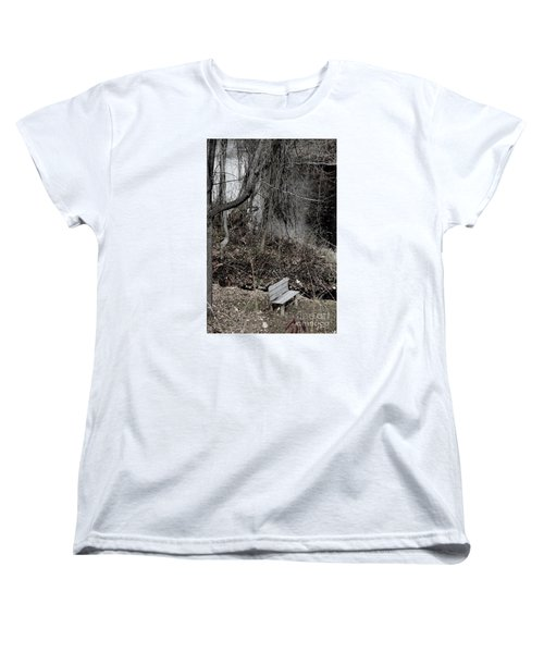 Women's T-Shirt (Standard Cut) featuring the photograph Last Available Seating by Jesse Ciazza