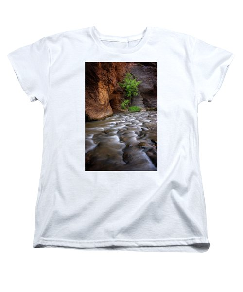 Women's T-Shirt (Standard Cut) featuring the photograph Last Stand by Dustin LeFevre