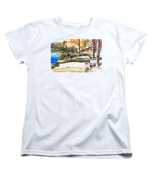 Last Summer In Brigadoon Women's T-Shirt (Standard Cut) by Kip DeVore
