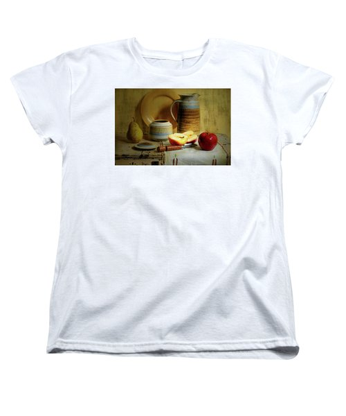 Women's T-Shirt (Standard Cut) featuring the photograph Late Day Break by Diana Angstadt
