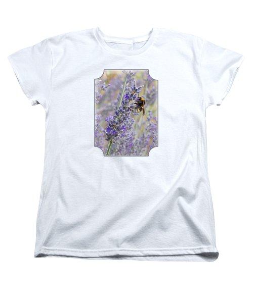 Lavender Bee Women's T-Shirt (Standard Fit)