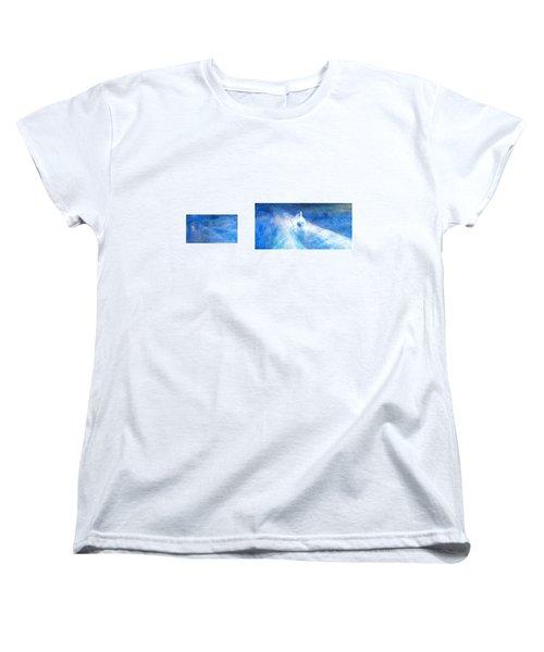 Layered 21 Turner Women's T-Shirt (Standard Cut) by David Bridburg