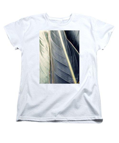 Leaf Abstract 14 Women's T-Shirt (Standard Cut) by Sarah Loft