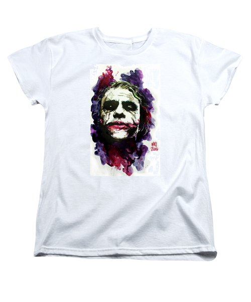 Ledgerjoker Women's T-Shirt (Standard Cut) by Ken Meyer jr