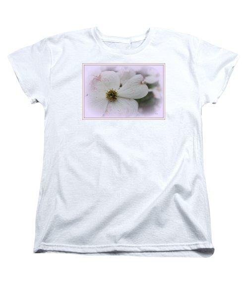 Legend Of The Dogwood Women's T-Shirt (Standard Cut) by Betty Northcutt