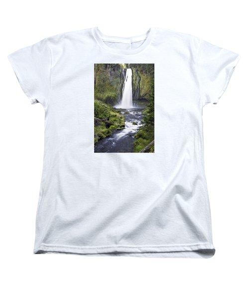 Lemolo Falls Women's T-Shirt (Standard Cut)
