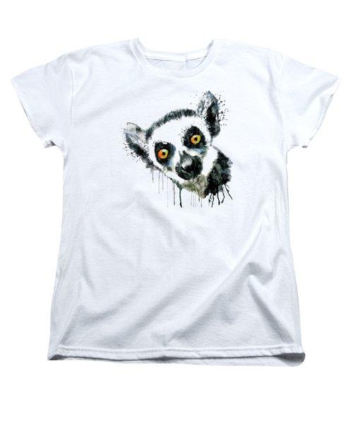 Lemur Head  Women's T-Shirt (Standard Fit)