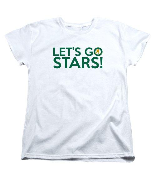 Let's Go Stars Women's T-Shirt (Standard Cut) by Florian Rodarte