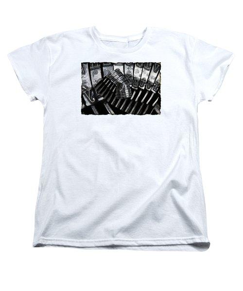 Letters Women's T-Shirt (Standard Cut) by Michal Boubin