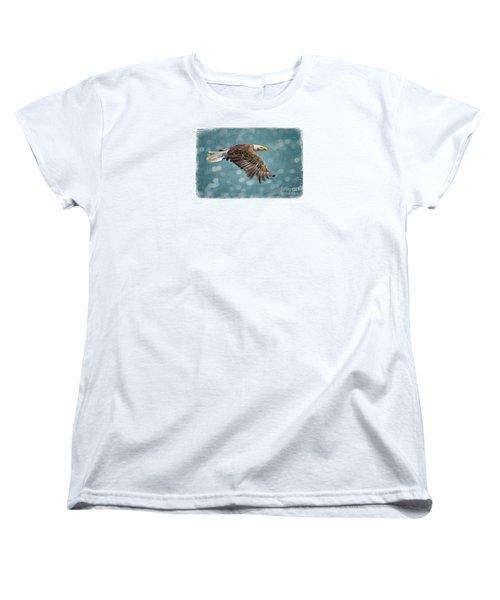 Liberty Women's T-Shirt (Standard Cut) by Alice Cahill