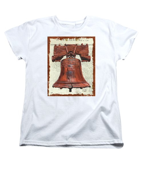 Life And Liberty Women's T-Shirt (Standard Cut)