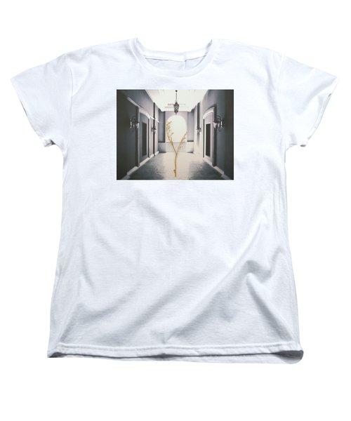 Women's T-Shirt (Standard Cut) featuring the photograph Life Inside  by Mark Ross