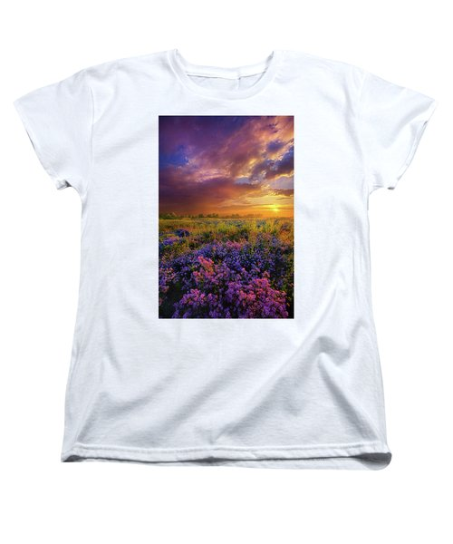 Life Is Measured In Moments Women's T-Shirt (Standard Cut) by Phil Koch