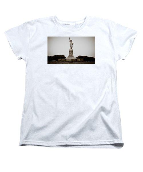 Women's T-Shirt (Standard Cut) featuring the photograph Liftin' Me Higher by David Sutton
