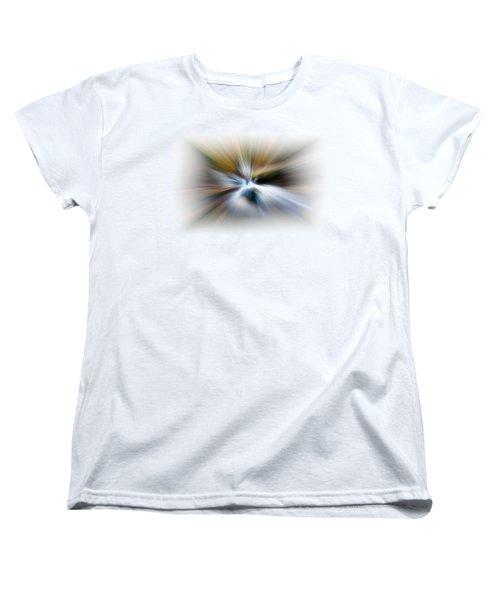 Light Angels Women's T-Shirt (Standard Cut) by Debra and Dave Vanderlaan