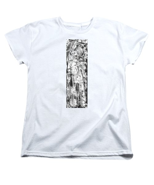 Women's T-Shirt (Standard Cut) featuring the painting Light by Carol Rashawnna Williams