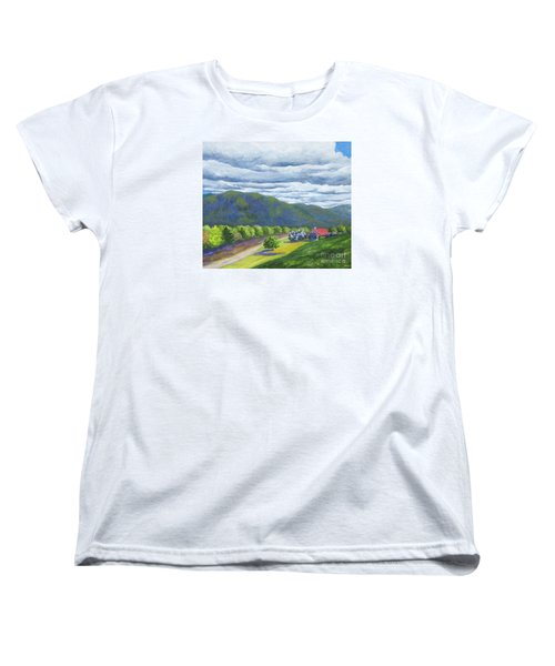 Lil's Place Women's T-Shirt (Standard Cut) by Anne Marie Brown