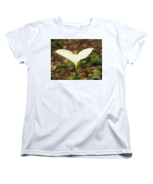 Lily Of The Valley Women's T-Shirt (Standard Cut) by Cassandra Buckley