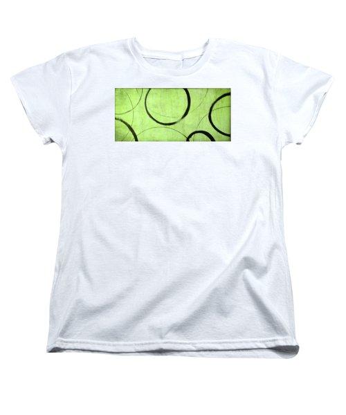 Lime Ensos Women's T-Shirt (Standard Cut) by Julie Niemela