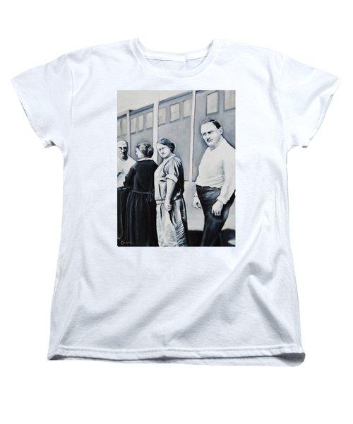 Line Of Peculiar People Women's T-Shirt (Standard Cut) by Jean Cormier