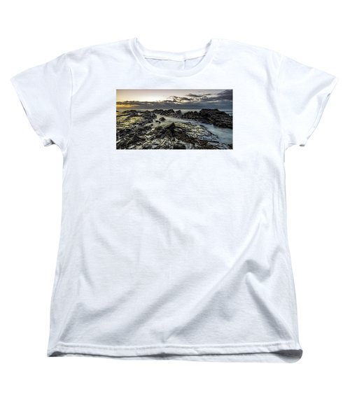Lines Of Time Women's T-Shirt (Standard Cut) by Mark Lucey