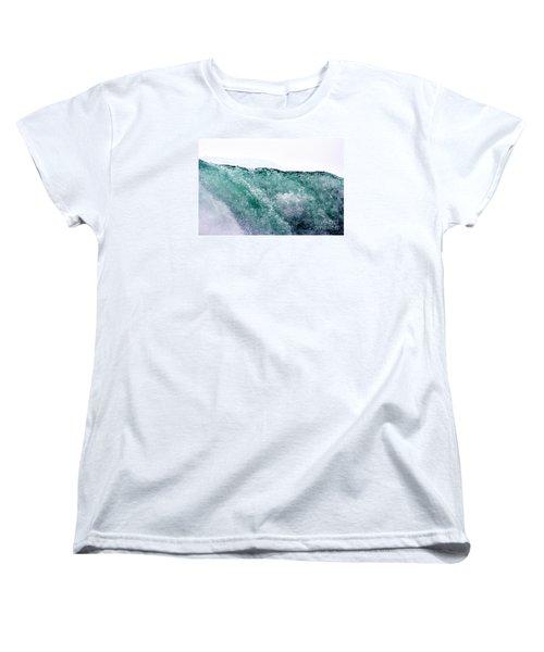 Women's T-Shirt (Standard Cut) featuring the photograph Liquid Horizon by Dana DiPasquale