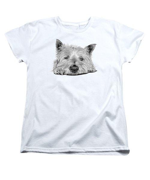 Little Dog Women's T-Shirt (Standard Cut)
