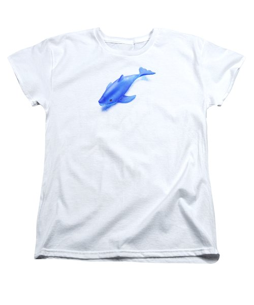 Little Rubber Fish Women's T-Shirt (Standard Cut) by YoPedro