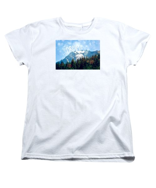 Living The Dream Women's T-Shirt (Standard Cut) by Robin Dickinson