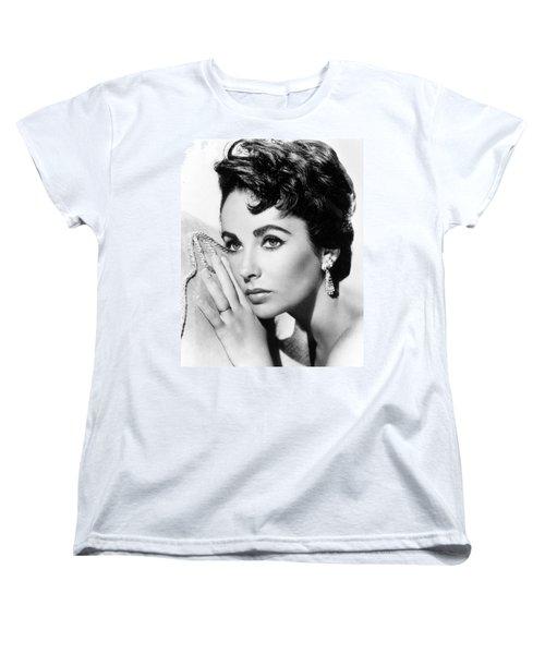 Liz Taylor Women's T-Shirt (Standard Cut) by American School