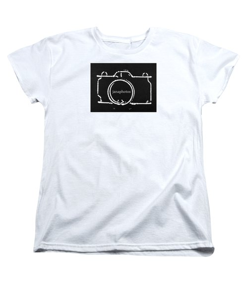 Women's T-Shirt (Standard Cut) featuring the digital art Logo by Jana Russon