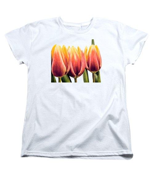Lomo Tulips Women's T-Shirt (Standard Cut) by Sebastien Coell
