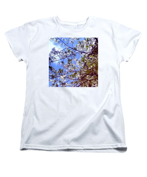 Women's T-Shirt (Standard Cut) featuring the photograph Lomography Spring Berlin by Art Photography