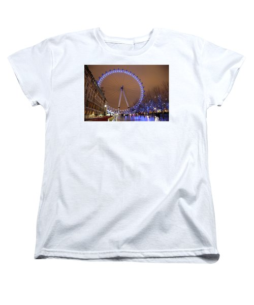 Women's T-Shirt (Standard Cut) featuring the photograph Big Wheel by David Chandler