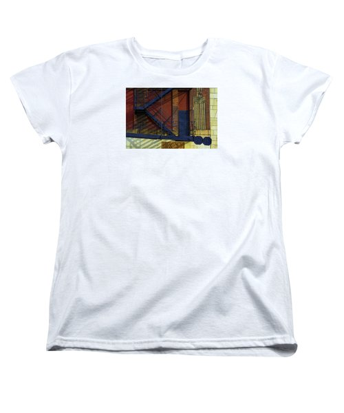 Lonely Days Parking Garage V2 Women's T-Shirt (Standard Cut) by Raymond Kunst