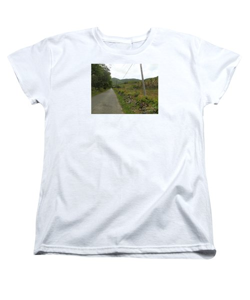 Long Road Into Colombier Women's T-Shirt (Standard Cut) by Margaret Brooks