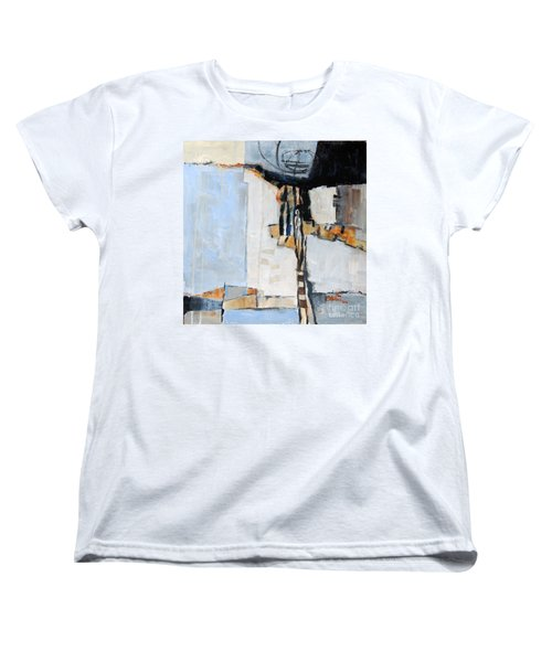 Women's T-Shirt (Standard Cut) featuring the painting Looking For A Way Out by Ron Stephens