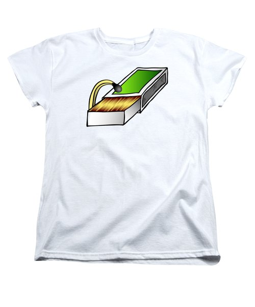 Looking For Women's T-Shirt (Standard Cut) by Michal Boubin