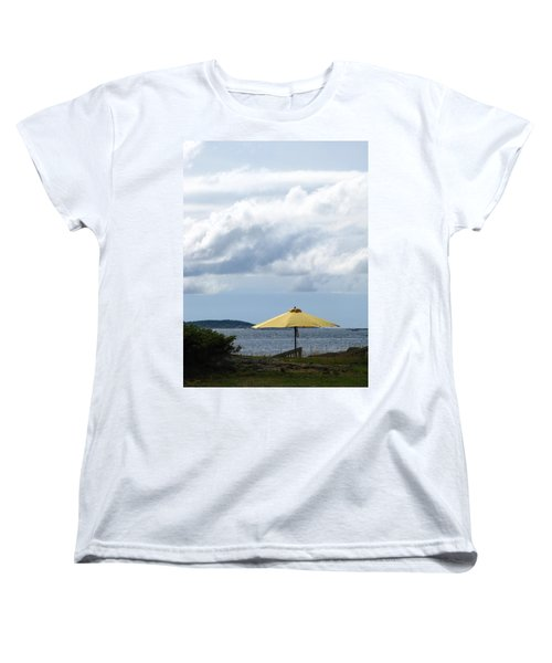 Looking Out To Sea Women's T-Shirt (Standard Cut)