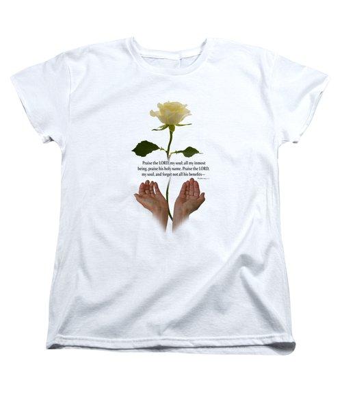 Lord, O My Soul Women's T-Shirt (Standard Fit)