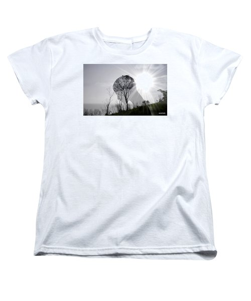 Lost Connection With Nature Women's T-Shirt (Standard Cut) by Paulo Zerbato