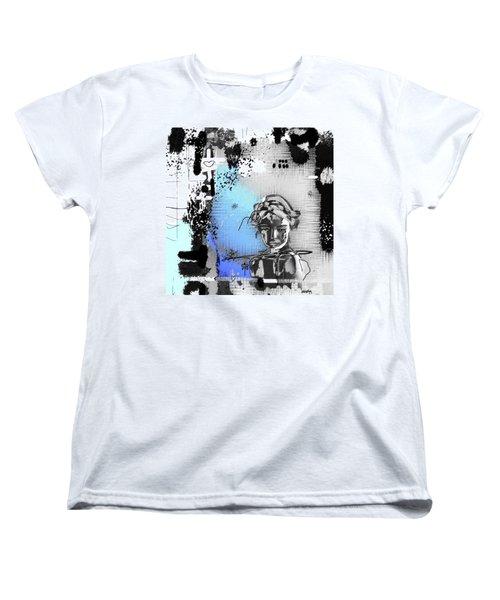 Women's T-Shirt (Standard Cut) featuring the digital art Lost Love by Sladjana Lazarevic