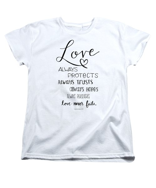 Love Always Women's T-Shirt (Standard Cut)