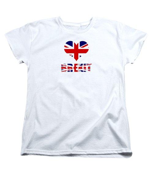 Love Brexit Women's T-Shirt (Standard Cut) by Roger Lighterness