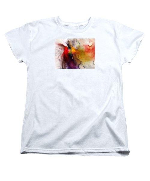 Love Of Liberty Women's T-Shirt (Standard Cut) by Karin Kuhlmann