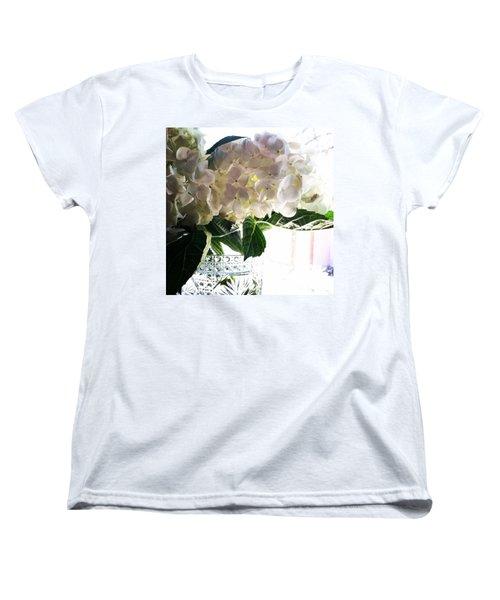 Love These Flowers! #happylaborday Women's T-Shirt (Standard Cut) by Jennifer Beaudet