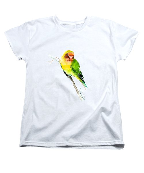 Lovebird Women's T-Shirt (Standard Cut) by Suren Nersisyan