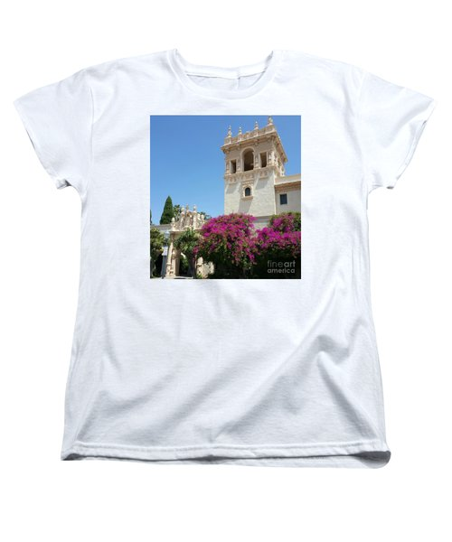 Lovely Blooming Day In Balboa Park San Diego Women's T-Shirt (Standard Cut) by Jasna Gopic