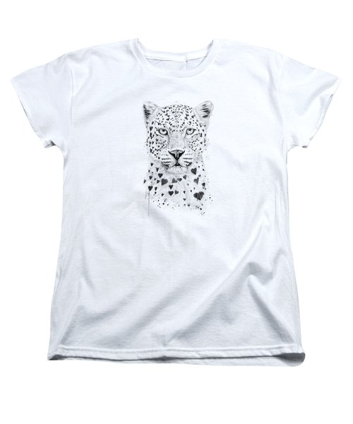 Lovely Leopard Women's T-Shirt (Standard Fit)