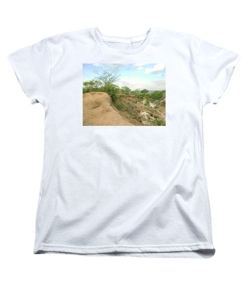 Women's T-Shirt (Standard Cut) featuring the photograph Lovers Forever by Beto Machado